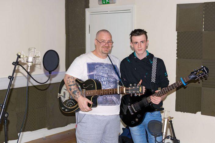 Recording Studio Guitar experience