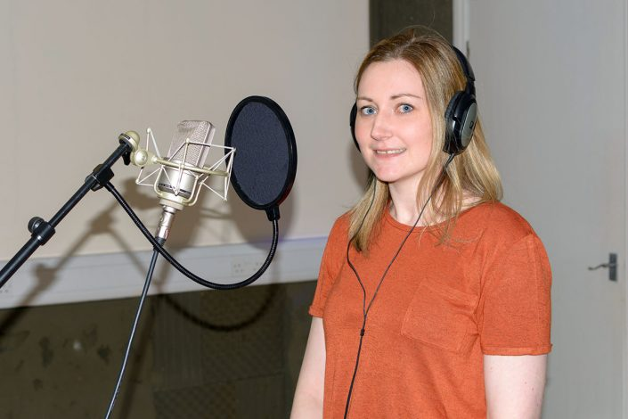 Recording Studio Singer experience