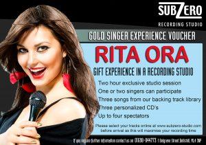 Singer Experiences - Subzero Recording Studio
